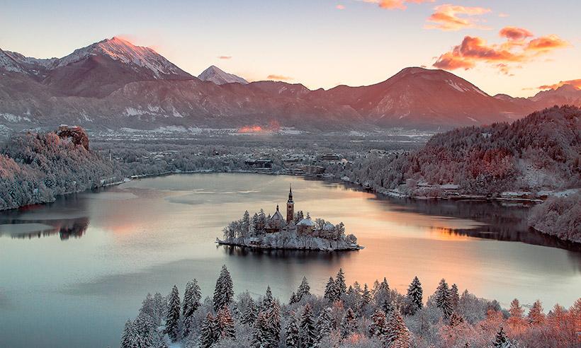 Bled, el lugar más bonito de Eslovenia