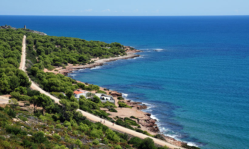 Una ruta de Peñíscola a Oropesa sin perder de vista el mar