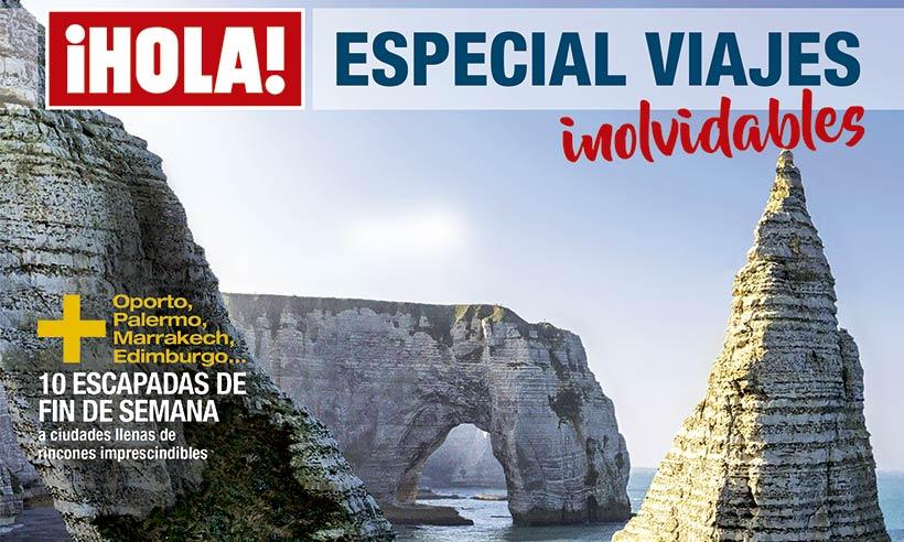 Ya está a la venta el nuevo 'Especial Viajes' de ¡Hola!