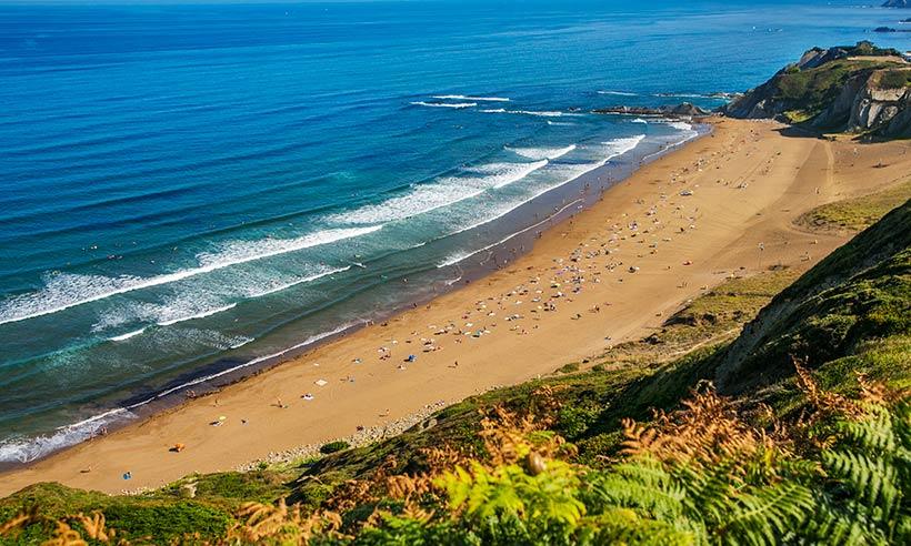 Una ruta a pie (o en metro) de playa en playa entre Bilbao y Plentzia