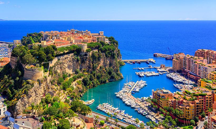 Mónaco, un lugar de cine para una boda de película