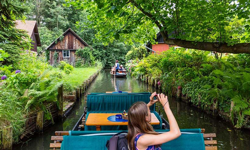 Spreewald, el bosque navegable refugio de los berlineses
