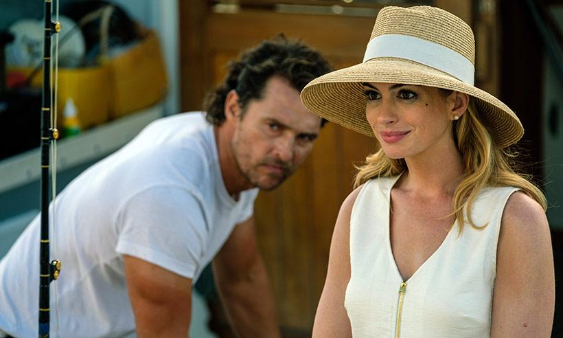 Matthew McConaughey y Anne Hathaway, juntos en el paraíso de Mauricio