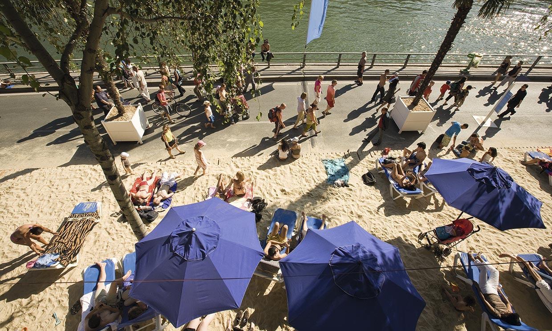 A falta de costa…Cinco playas urbanas de Europa para sobrellevar el verano
