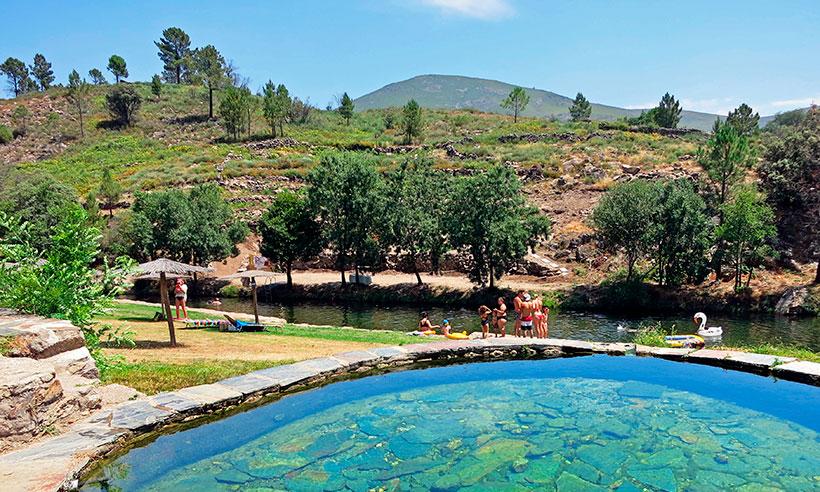 Los mejores chapuzones del verano están en Sierra de Gata