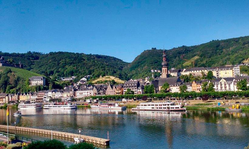 Vacaciones para dos, un crucero romántico por el Rhin