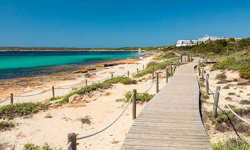Migjorn, la otra gran playa de Formentera