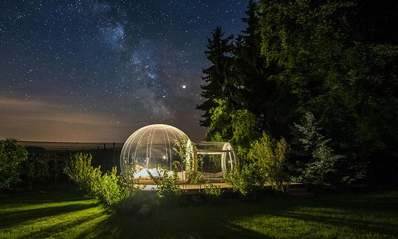 Duerme en un hotel de 5 millones de estrellas