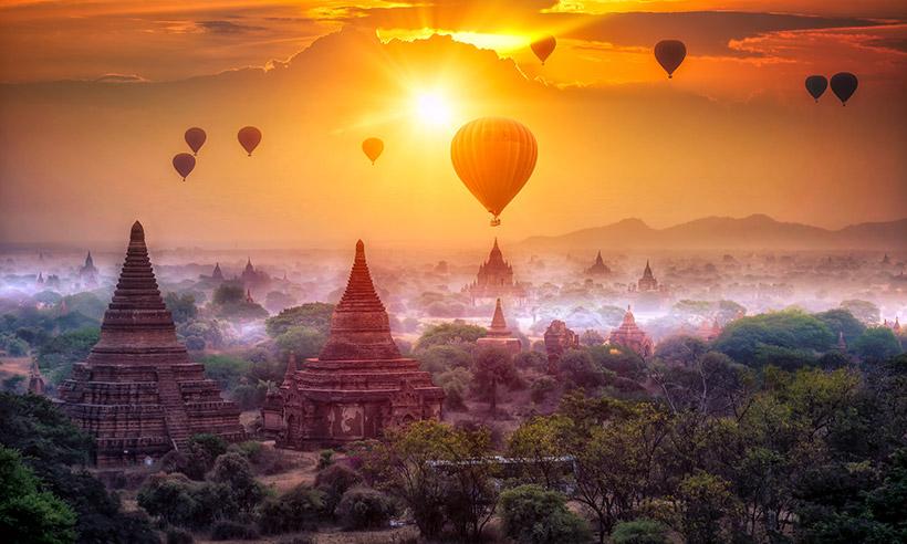 Los templos de Bagan, el nuevo Patrimonio de la Humanidad de Myanmar