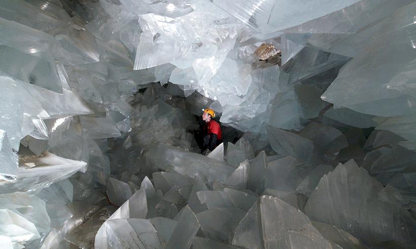 La cueva de cristales más grande de Europa está en Almería