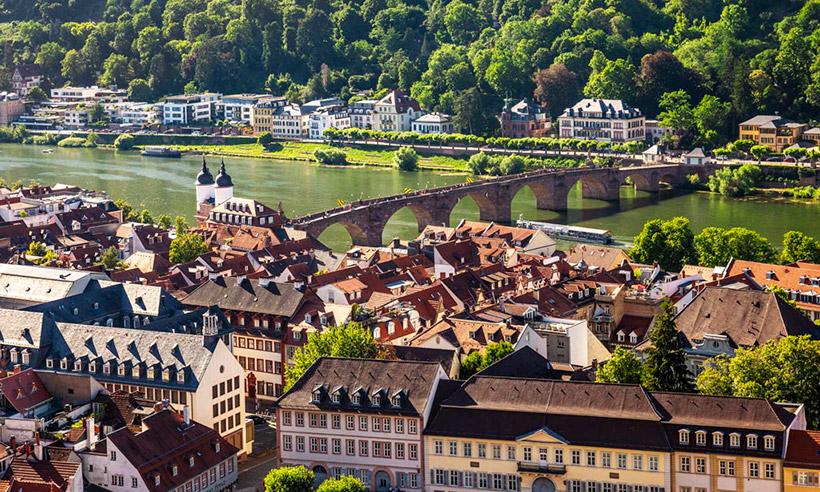 48 horas en Heidelberg, la bella ciudad alemana en la que da gusto estudiar