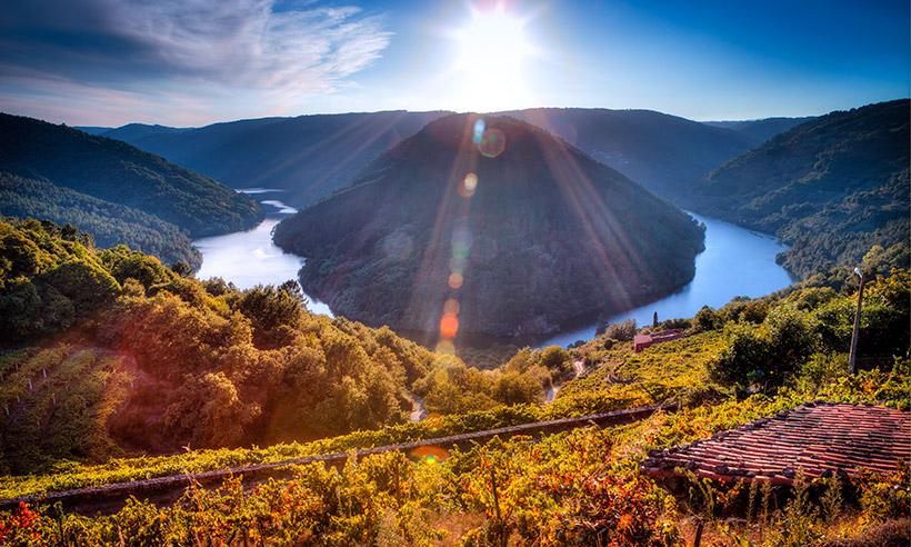 Por la Ribeira Sacra lucense, la Galicia más desconocida