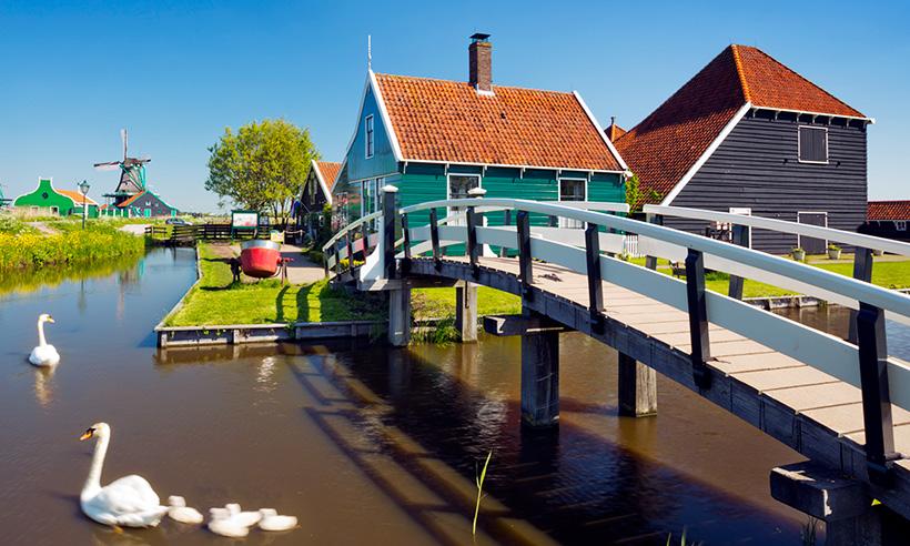 Una ruta por los pueblos más bucólicos de los Países Bajos