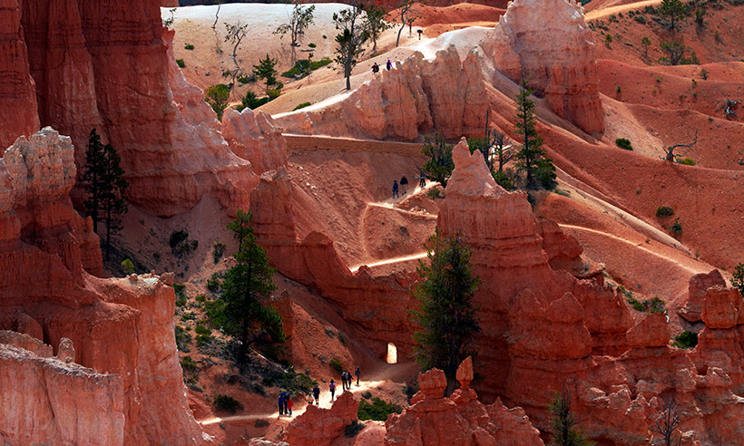 Por el Bryce Canyon entre chimeneas de hadas