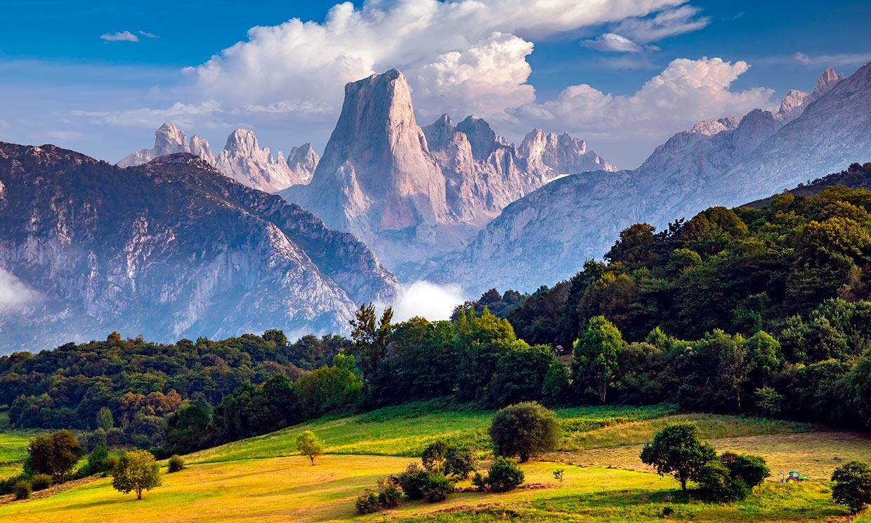 Asturias cambia el verde y se tiñe de ocres y amarillos