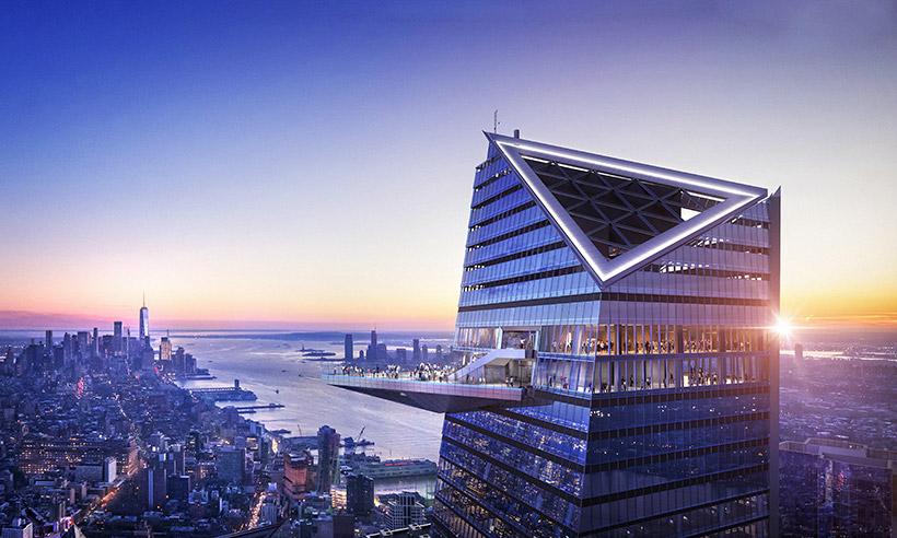 The Edge, una nueva ventana al cielo de Nueva York