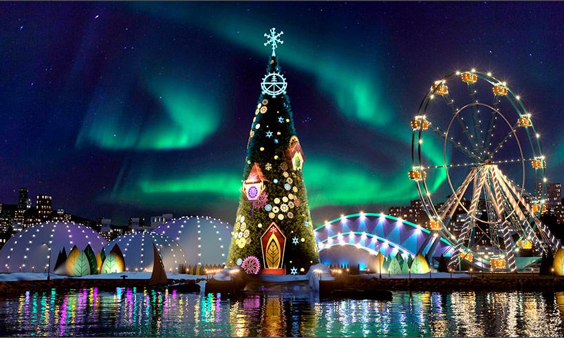 ¿Laponia? No, Lisboa, así es el mayor parque temático de la Navidad de Europa