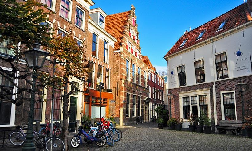 Tras los pasos del joven Rembrandt por Leiden