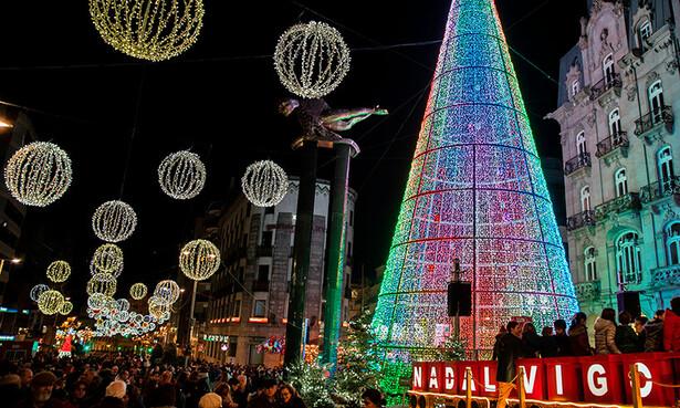 Las mejores luces del planeta (y más), esta Navidad en Vigo