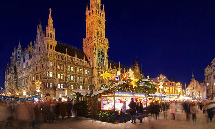 De mercadillo en mercadillo por Múnich, una maravilla de Navidad