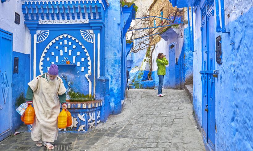 Chaouen, el pueblo de los mil tonos de azul de Marruecos