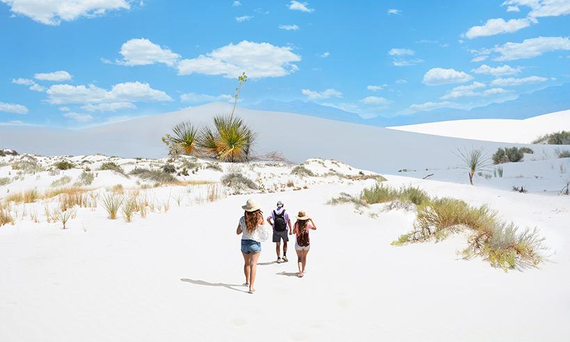 Nieve parece, arena es... El nuevo Parque Nacional de Estados Unidos