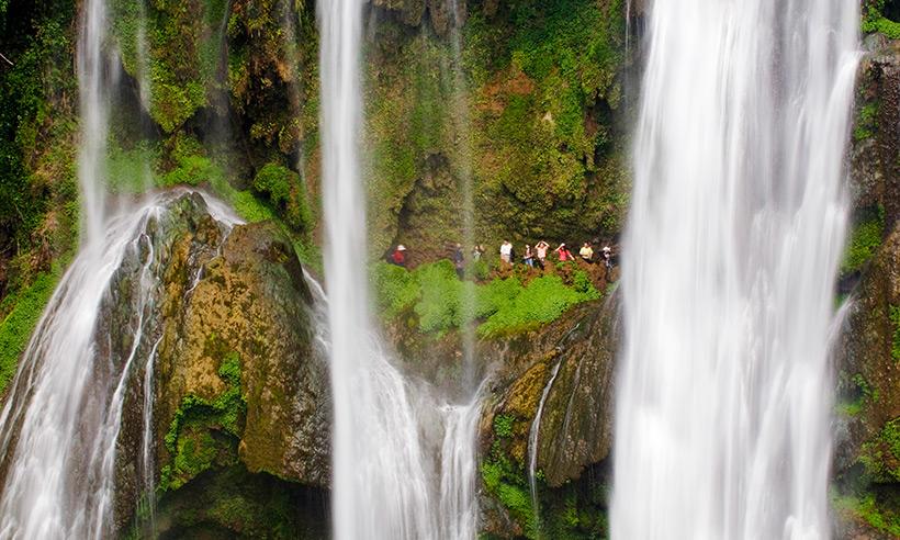 La cascada más alta de Asia, un lugar increíble para estrenar el Año Nuevo chino