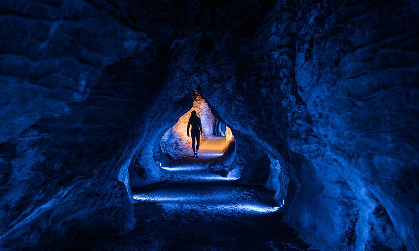La alucinante cueva de los gusanos de luz