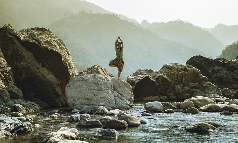 La capital mundial del yoga se llama Rishikesh