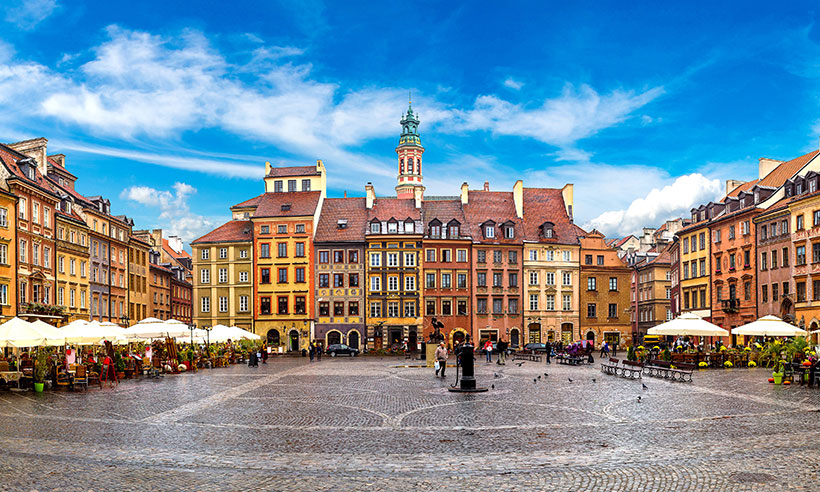 Pistas para descubrir la nueva Varsovia