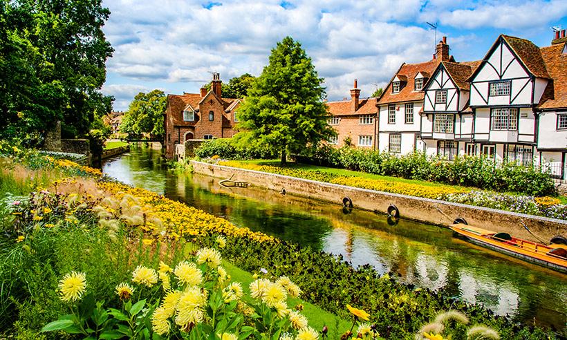 Entre hermosos 'cottages' y ciudades de cuento por el condado de Kent