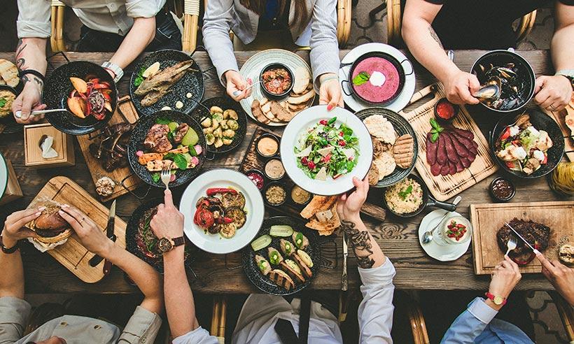 Restaurantes gourmet a domicilio para comer en familia