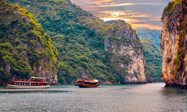 Bahía de Halong, la postal más fotogénica del sudeste asiático