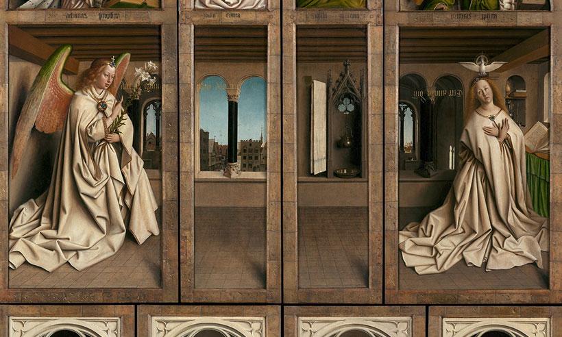 La exposición de Van Eyck que viaja de Gante al salón de tu casa