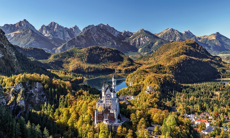 Neuschwanstein, el sueño del rey loco que inspiró a Walt Disney