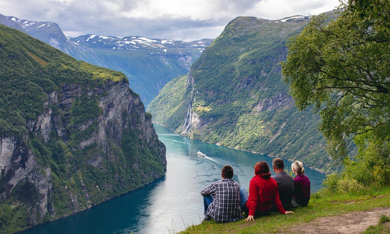 Los fiordos noruegos o la naturaleza más sublime