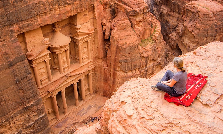 Petra, el gran tesoro en el desierto de Jordania
