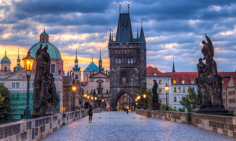 El centro histórico de Praga, un 'hit' en el corazón de Europa