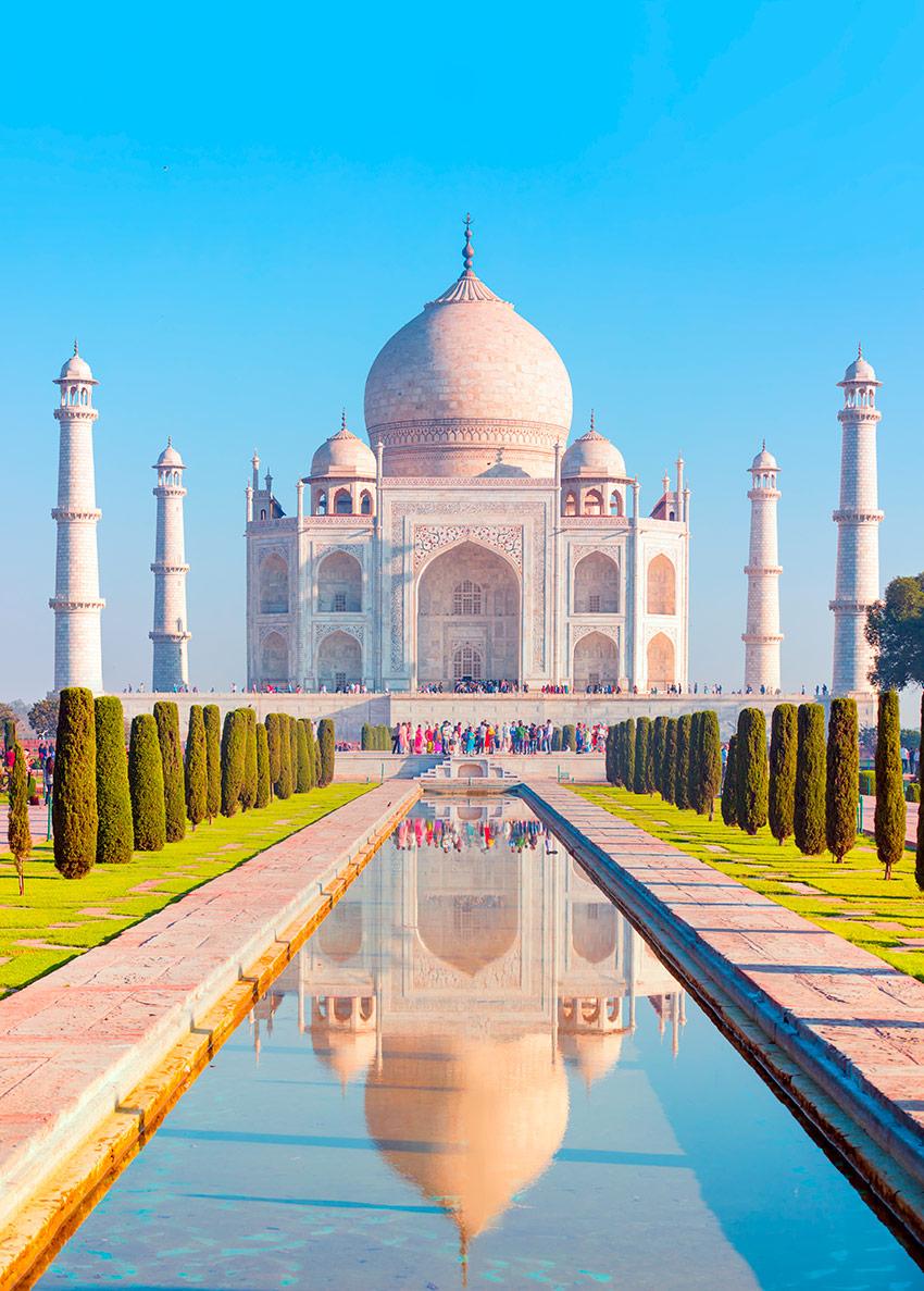 El Taj Mahal o la más monumental declaración de amor - Foto 1