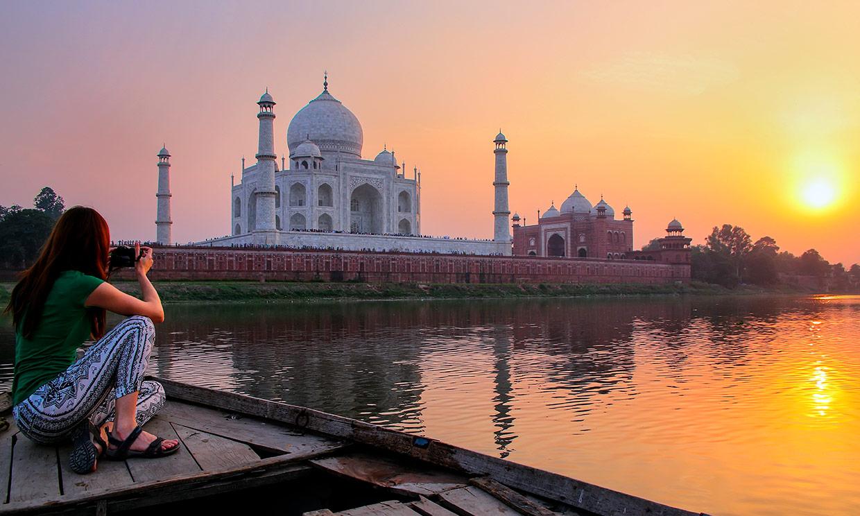 El Taj Mahal o la más monumental declaración de amor