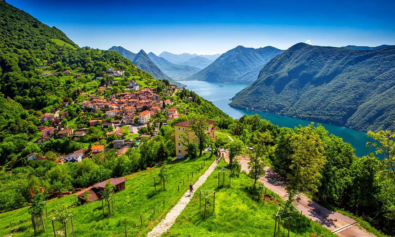 Lugano, la Suiza con sabor mediterráneo