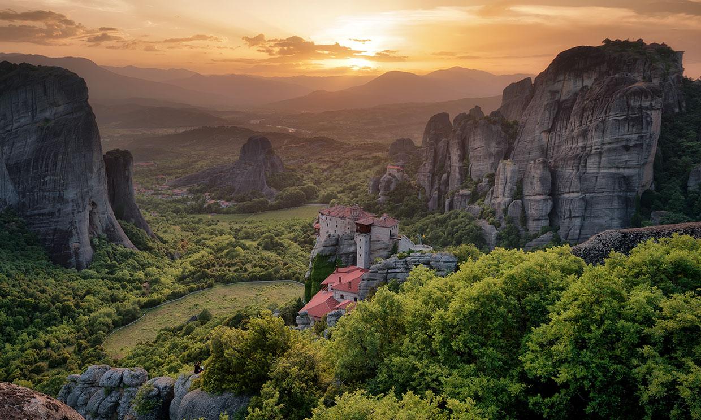 Los monasterios griegos de Meteora, rocas en el aire