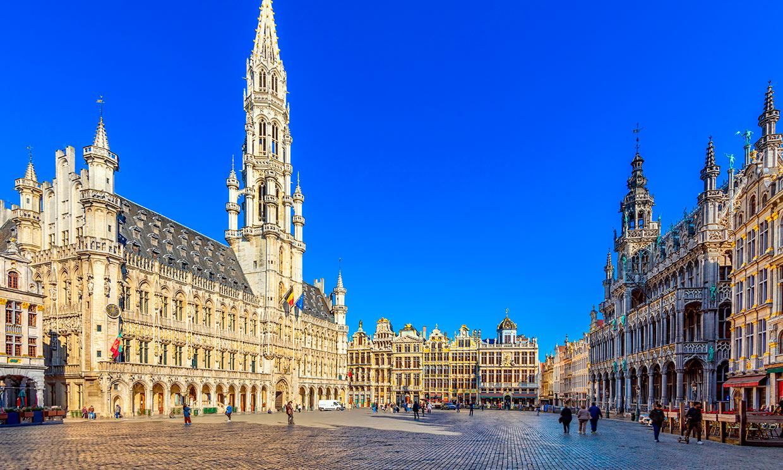 La Grand Place de Bruselas, la plaza mas hermosa del mundo