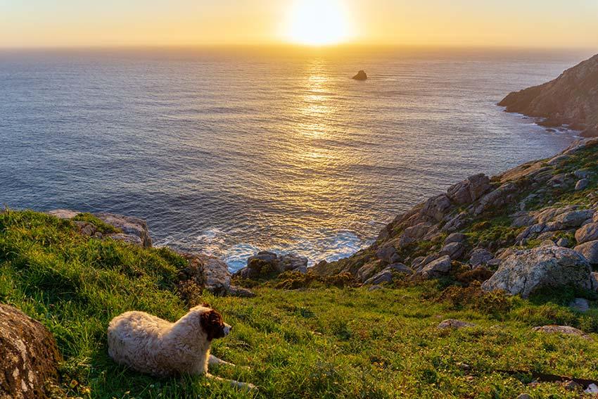 Finisterre, una puesta de sol en el fin del mundo