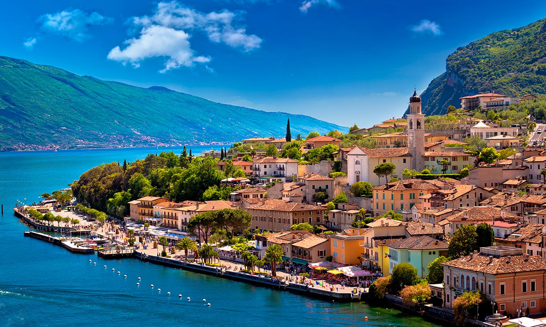 A orillas del lago de Garda, el más inspirador de Italia
