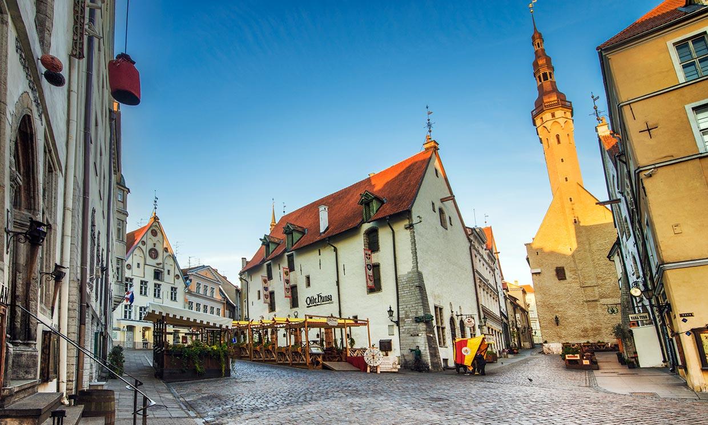 Una preciosa ciudad medieval en el Báltico llamada Tallín