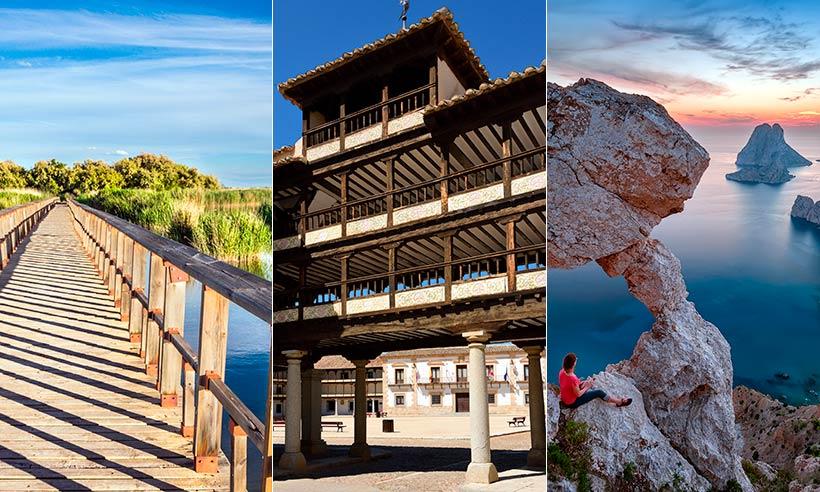 Siete «road trips» para viajar este verano por España