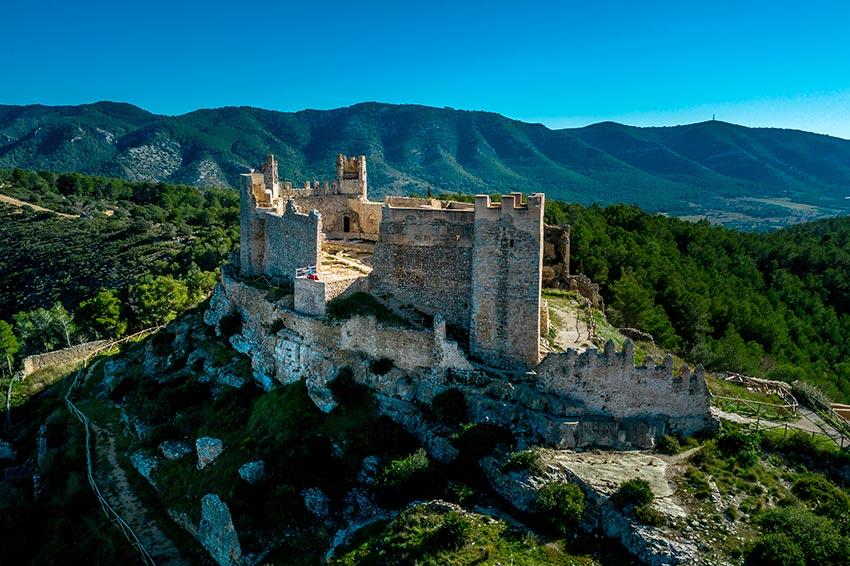 castillo-Xivert-castellon - Parque natural sierra de Irta