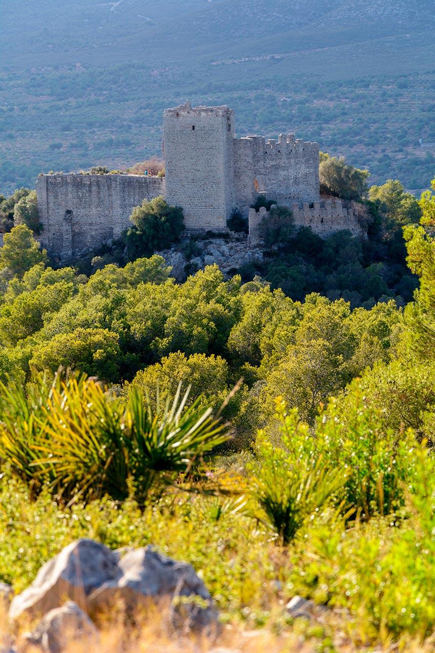 Pulpis-castillo - Parque natural sierra de Irta