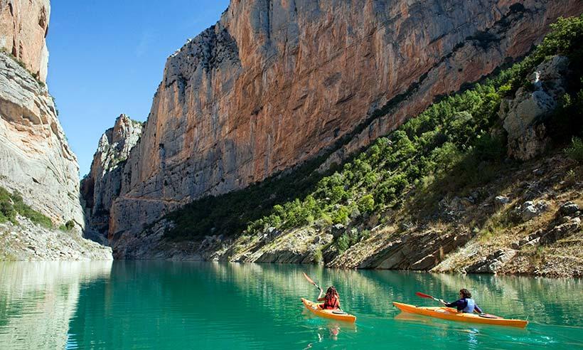 Cascada de experiencias para un verano en Lleida al aire libre